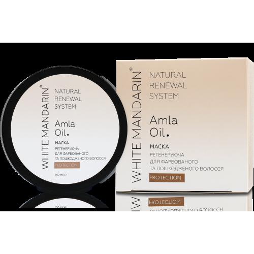 Регенерирующая маска для окрашенных и поврежденных волос Protection White Mandarin