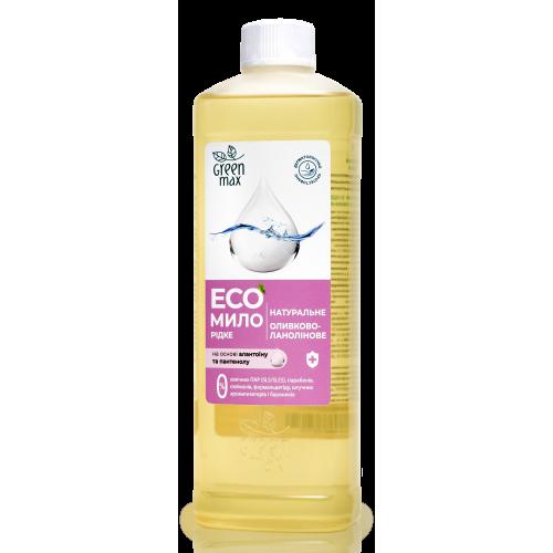 ЕКО Мило натуральне рідке оливково-ланолінове Green Max