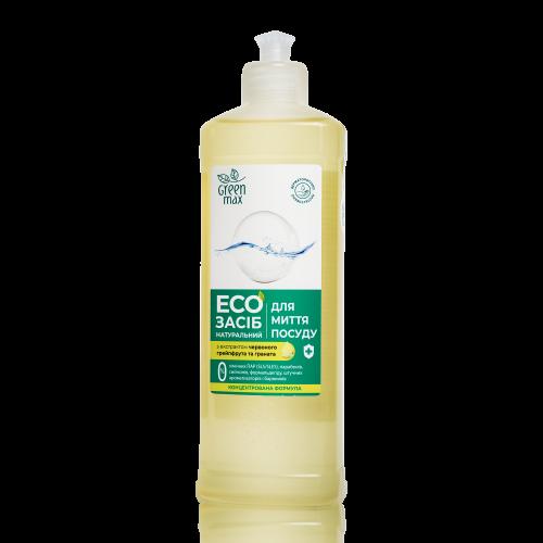 ЭКО Средство натуральное для мытья посуды Green Max