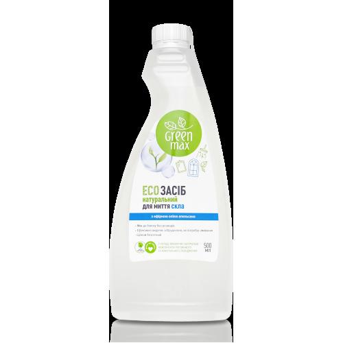 ЕКО Засіб натуральний для миття скла з кришкою Green Max