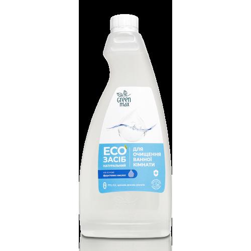 EКО Засіб натуральний для очищення ванної кімнати з кришкою Green Max