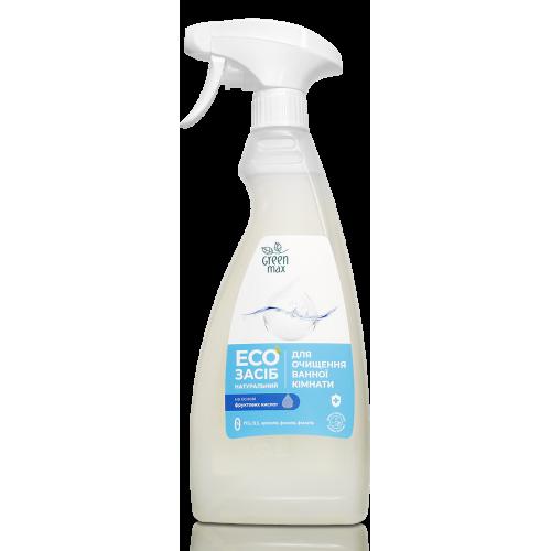 EКО Засіб натуральний для очищення ванної кімнати з розпилювачем Green Max