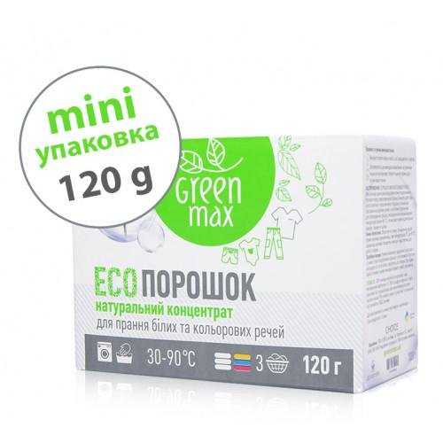 ЕКО-порошок універсальний для прання білих та кольорових речей mini  (120 г)