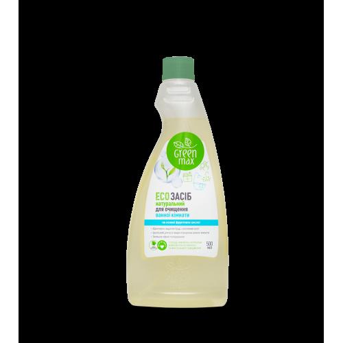ЕКО Засіб для прибирання ванної кімнати з кришкою Green Max
