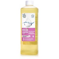 """ЭКО-Мыло натуральное жидкое """"оливково-ланолиновое"""" (500 мл)"""