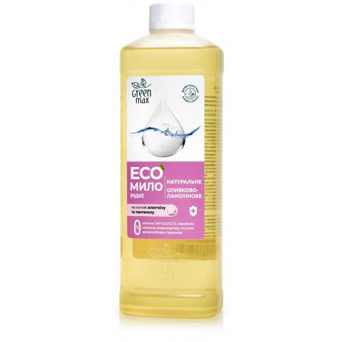 """ЕКО-Мило натуральне рідке """"оливково-ланолінове"""" (500 мл)"""