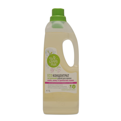ЕКО-Концентрат натуральний рідкий для прання вовни, шовку та делікатних тканин (1000 мл)