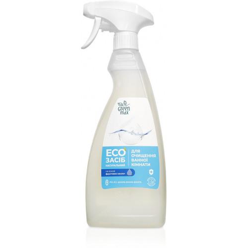 EКОзасіб натуральний для очищення ванної кімнати  з розпилювачем. Green Max
