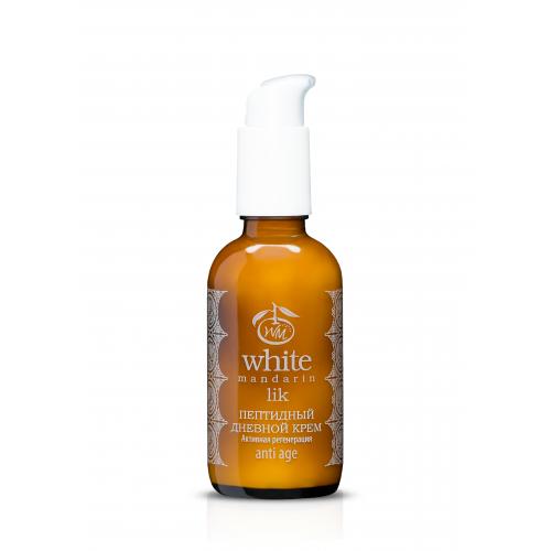 Пептидный дневной крем Активная регенерация серии Проросшие зерна White Mandarin