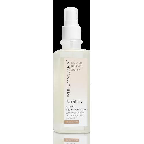Спрей-реструктуризация для окрашенных и поврежденных волос PROTECTION White Mandarin
